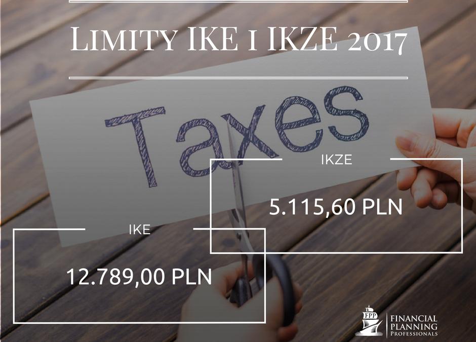 Limity wpłat IKE i IKZE w 2017 roku.